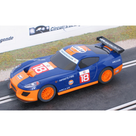 Scalextric TEAM GT Gulf n° 18