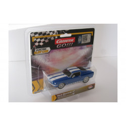 "1/43° Carrera Go FORD Mustang ""racing blue"""