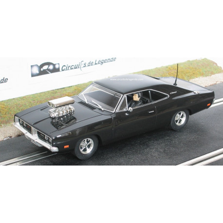 SCALEXTRIC DODGE CHARGER R/T 1969 noire