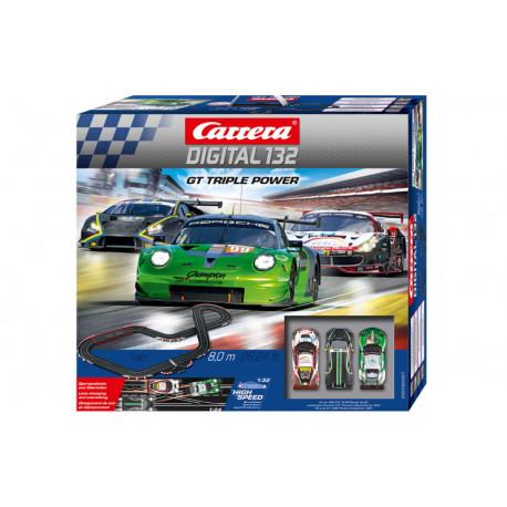 Carrera coffret GT TRIPLE POWER
