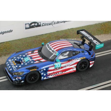 Scalextric MERCEDES AMG GT3 n°33