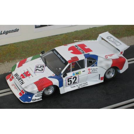 Sideways BMW M1 gr5 n°52