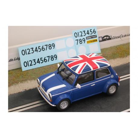 1/24° BRM AUSTIN Mini Cooper bleue