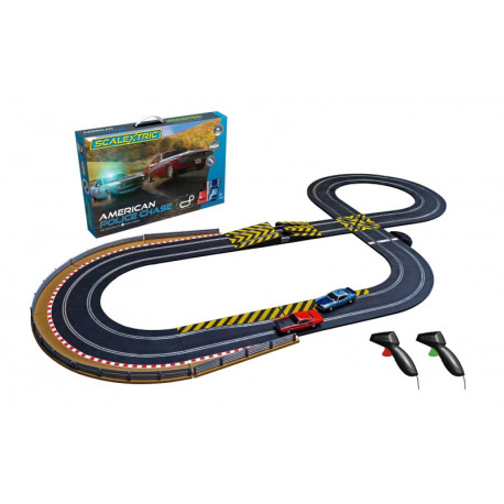 """Scalextric coffret """"AMERICAN POLICE CHASE"""""""