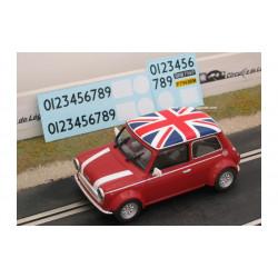 "1/24° BRM AUSTIN Mini Cooper rouge ""UK"""