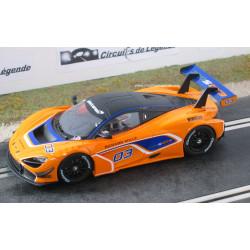 Carrera McLAREN 720S GT3 n°03 digitale
