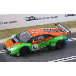 Sideways LAMBORGHINI Huracan GT3 n°63