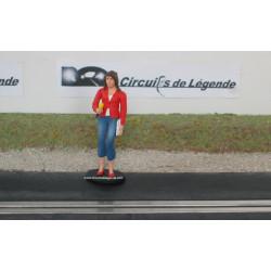 """Le Mans Miniatures """"Marion"""" journaliste"""