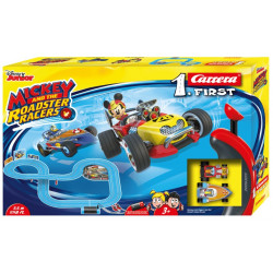 CARRERA 1.First Coffret MICKEY and the ROADSTER RACERS