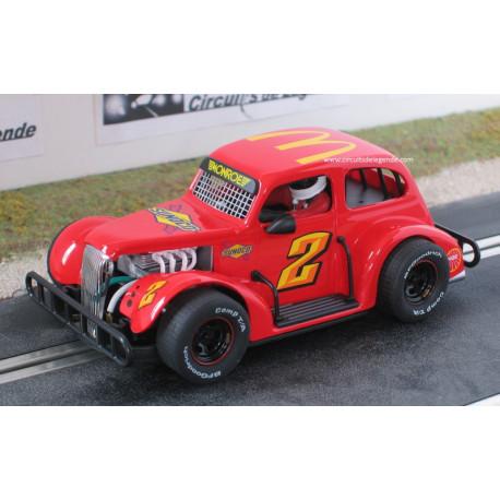 Pioneer Legend Racer Series CHEVY n°67 rouge