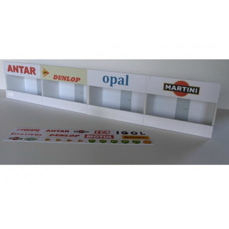 GP Miniatures ROUEN kit stands