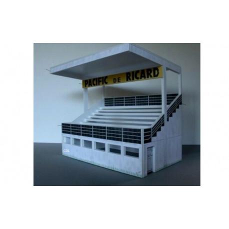 GP Miniatures ROUEN kit tribune de la Presse