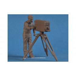 Immense Miniatures kit caméra TV + caméraman