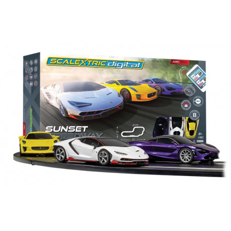 "Scalextric coffret Digital ""ARC PRO SUNSET SPEEDWAY"""