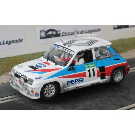 """Fly RENAULT 5 turbo n°11 """"Pepsi"""" """"mud"""""""