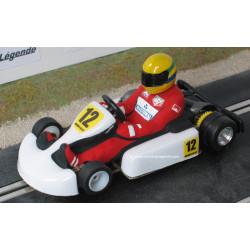 "Nonno Slot Kart blans n°12 ""Ayrton"""