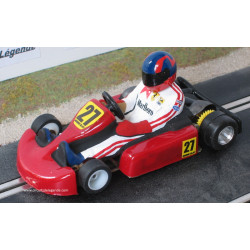 """Nonno Slot Kart rouge n°27 """"Gilles"""""""