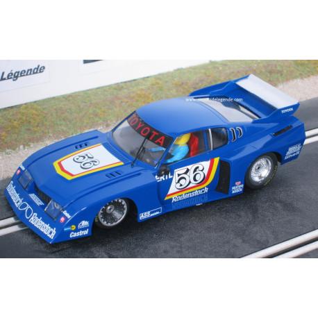 Sideways TOYOTA Celica turbo n°56 DRM 1977