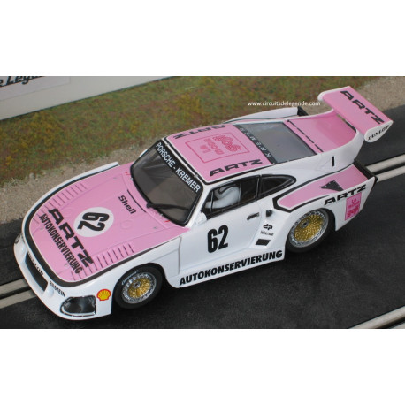 """Carrera PORSCHE 935 K3 n°62 """"Kremer Racing"""""""