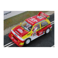 "Scaleauto MG Metro 6R4 n°12 ""33 Export"""