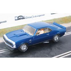 Pioneer CHEVROLET Camaro SS427 1968 bleue