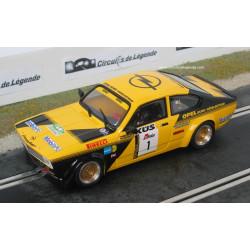 1/24° BRM OPEL Kadett GT/E n°1 rallye 2016