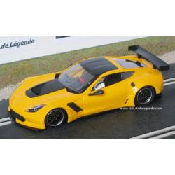 CHEVROLET Corvette C7R test jaune