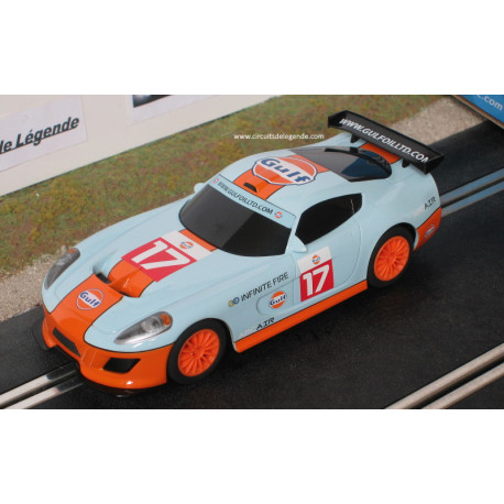 Scalextric GT TEAM Gulf n°17