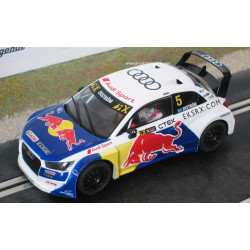 "SCX AUDI S1 WRX n°5 ""Red Bull"""