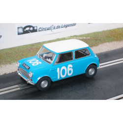 SCALEXTRIC AUSTIN Mini Cooper S n° 106