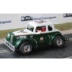 Pioneer Legend Racer Xmas FORD n°25 vert et blanc