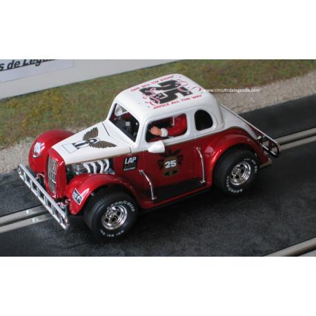 Pioneer Legend Racer Xmas FORD n°25 rouge et blanc