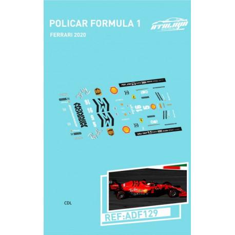 Atalaya décalques pour Formule 1 Policar 2018/20