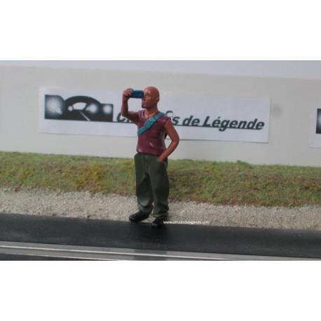 Le Mans Miniatures Renaud , version selfie