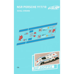 "Atalaya décals PORSCHE 917/10 T NSR n°23 ""Royal..."