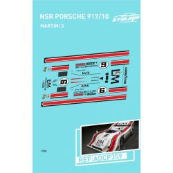 "Atalaya décals PORSCHE 917/10 T NSR n°6 ""L & M"""