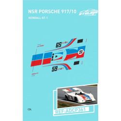"""Atalaya décals PORSCHE 917/10 T NSR n°59 """"Brumos"""""""