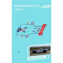 "Atalaya décals PORSCHE 917/20 NSR n°3 ""Martini"""