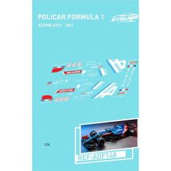 Atalaya décals F1 Policar 2021 Alpine A521