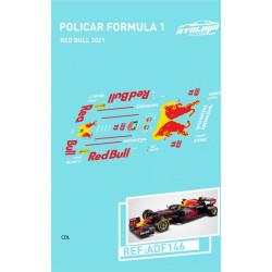 Atalaya décals F1 Policar 2021 Red Bull