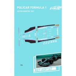 Atalaya décals F1 Policar 2021 Aston Martin