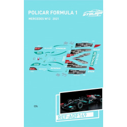 Atalaya décals F1 Policar 2021 Mercedes W12