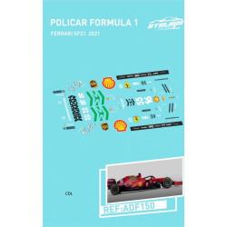 Atalaya décals F1 Policar 2021 Ferrari SF21