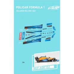 Atalaya décals F1 Policar 2021 McLaren