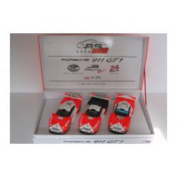 Revoslot PORSCHE 911 GT1 1997 coffret team JB