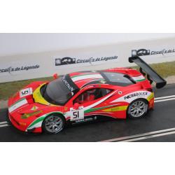 1/24° CARRERA FERRARI 458 Italia GT3 n° 51
