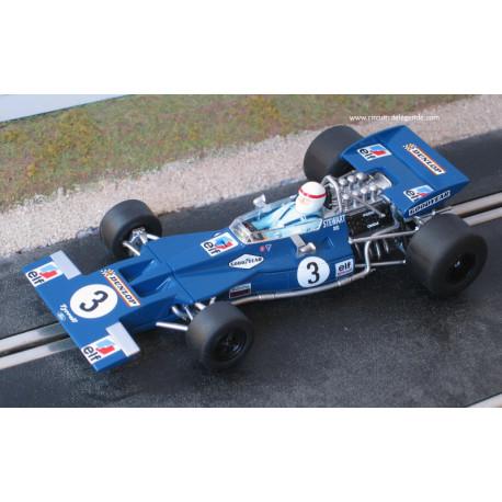 Scalextric TYRRELL 001 n°3, Stewart, GP Canada