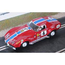Scalextric CHEVROLET Corvette C3 n°4 24H le Mans