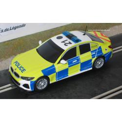 """Scalextric BMW 330i """"Police"""" anglaise"""