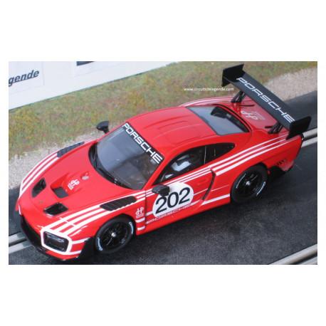 Carrera PORSCHE 935 GT2 n°202 rouge digitale